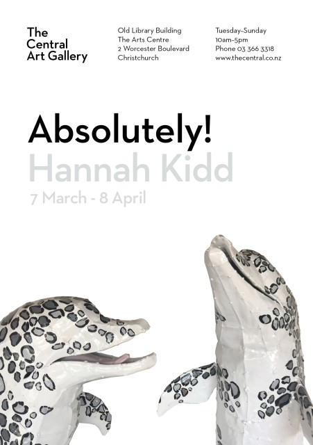 Exhibition Opening - Show #11: Absolutely! by Hannah Kidd