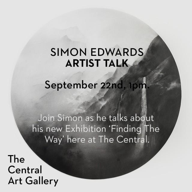 Artist Talk: Simon Edwards 'Finding The Way'