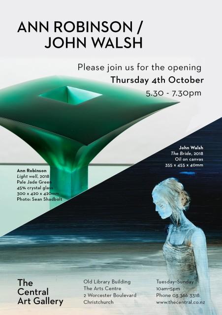 Exhibition Opening - Show #17: Ann Robinson / John Walsh