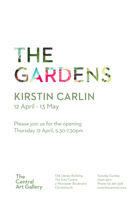 Exhibition Opening - Show #12: The Gardens by Kirstin Carlin