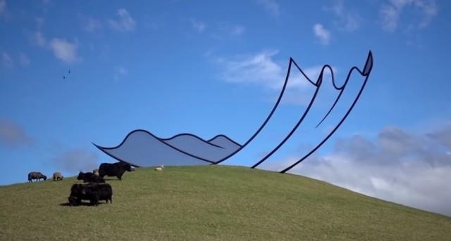 Neil Dawson | 'Horizons' on Gibbs Farm