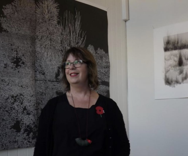 Fiona Van Oyen | Otago Daily Times: 'Masters student's artwork inspired by lost connection to the land'