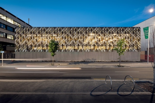 Mahu Matarau on the Justice and Emergency Services Precinct in Christchurch