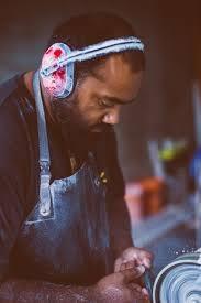 Jon Jeet Pounamu Carving