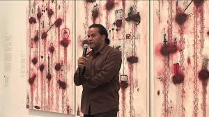 John Pule/ Poetry Reading at 5th Asia Pacific Triennial of Contemporary Art (GOMA)
