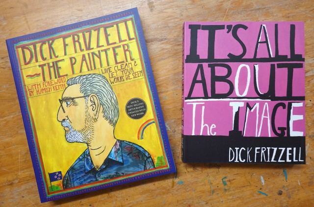 Runner up and unders 10's prizes It's all about the Image by Dick Frizzell - signed Dick Frizzell: The Painter...