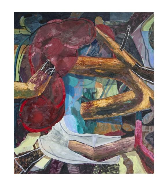 "Unkempt 2017 | oil on canvas | 150 x 130cm (59 x 51"")"