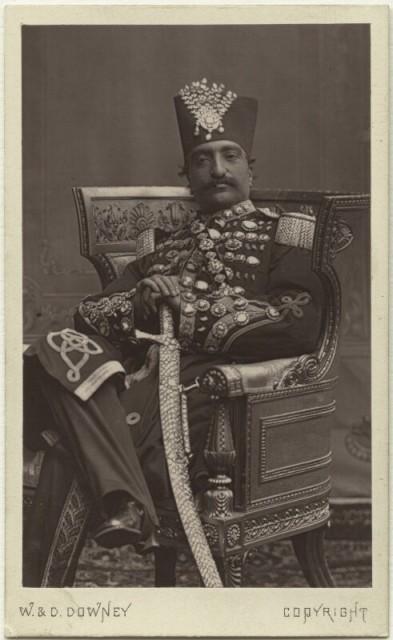 W.D. Downey, Naser al-Din Shah Qajar, 1870s