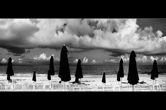 <p>Untitled (Umbrellas on Beach)</p>