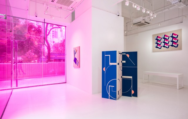 Flatland: A Romance of Many Dimensions, Pearl Lam Gallery, Hong Kong