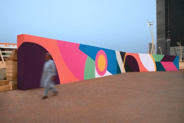 Karachi Biennale, Bin Al Qasim Park, Karachi