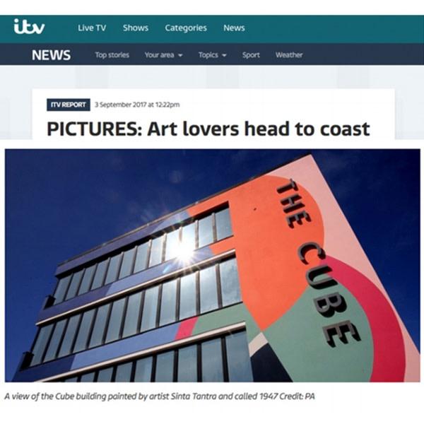 Art lovers head to coast for Folkestone Triennial