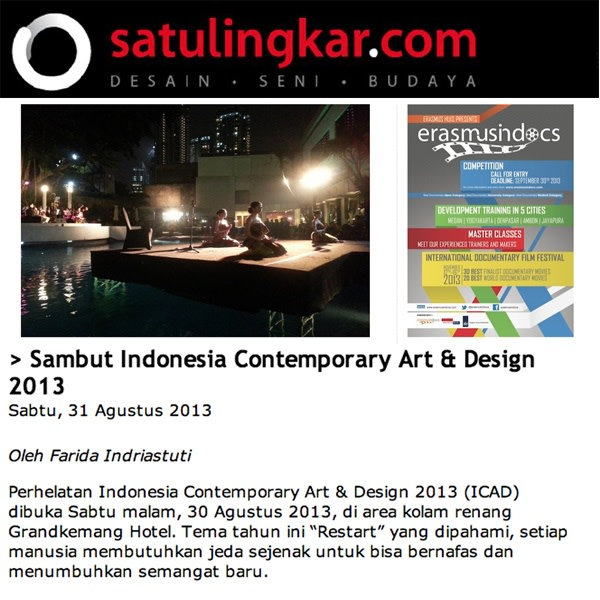 Sambut Indonesia Contemporary Art & Design