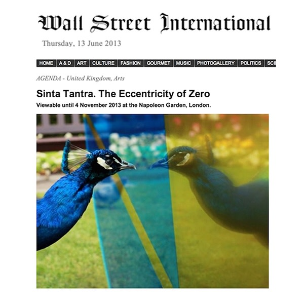 Sinta Tantra. The Eccentricity of Zero