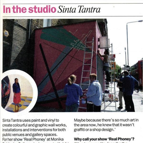 In the studio: Sinta Tantra