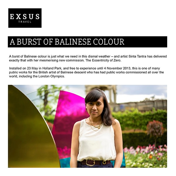 A Burst of Balinese Colour