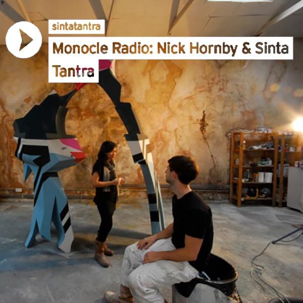 Interview: Nick Hornby & Sinta Tantra