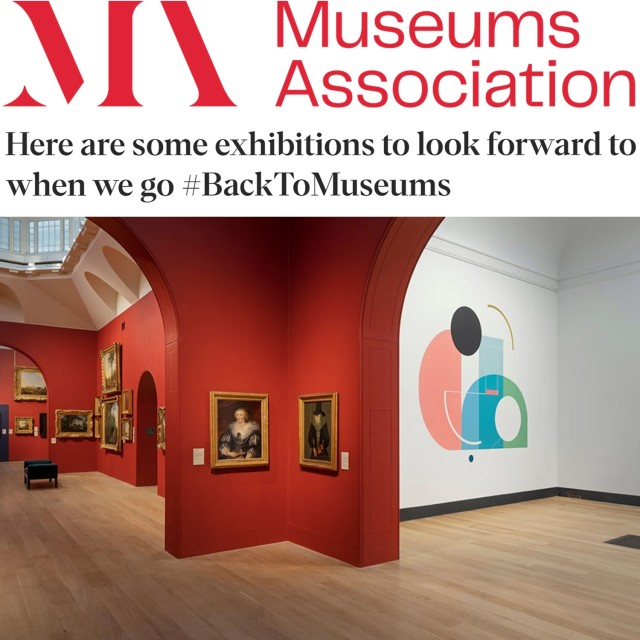Here are some exhibitions to look forward to when we go #BackToMuseums