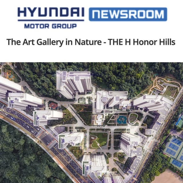 The Art Gallery in Nature - The H Honour Hills