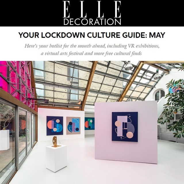 Your Lockdown Culture Guide: May