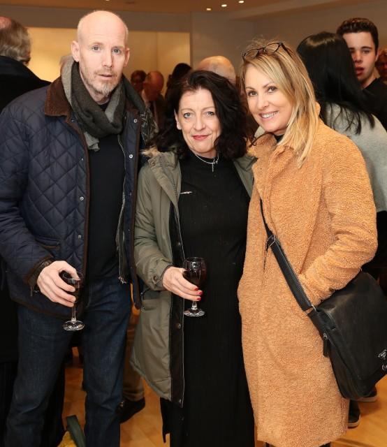 Brian McDonald, Keelin Egan & Orla de Bri