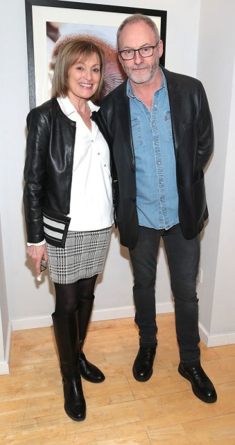 Mary Kennedy and Liam Cunningham