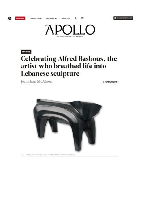 Apollo the international art magazine
