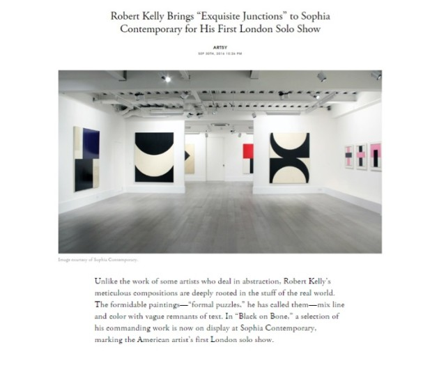 """Robert Kelly Brings """"Exquisite Junctions"""" to Sophia Contemporary for His First London Solo Show"""