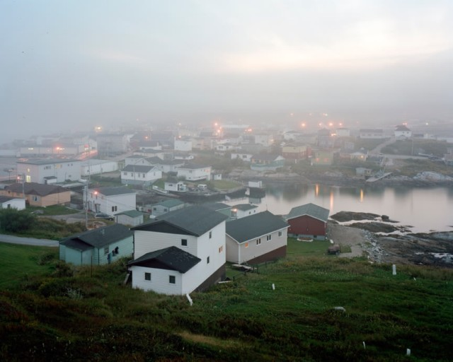 Scott Conarroe b. 1974 Fog, Port Aux Basques, NF, 2009 Signed, titled, dated, and editioned, au mount verso Pigment print on archival paper 24 x 30 inch (60.96 x 76.2 cm) print