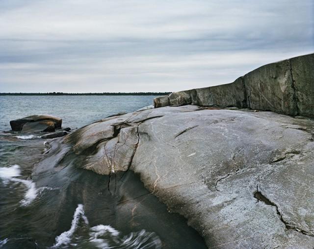 Red Rock #3, Georgian Bay, ON, 2018 © Joseph Hartman / courtesy Stephen Bulger Gallery