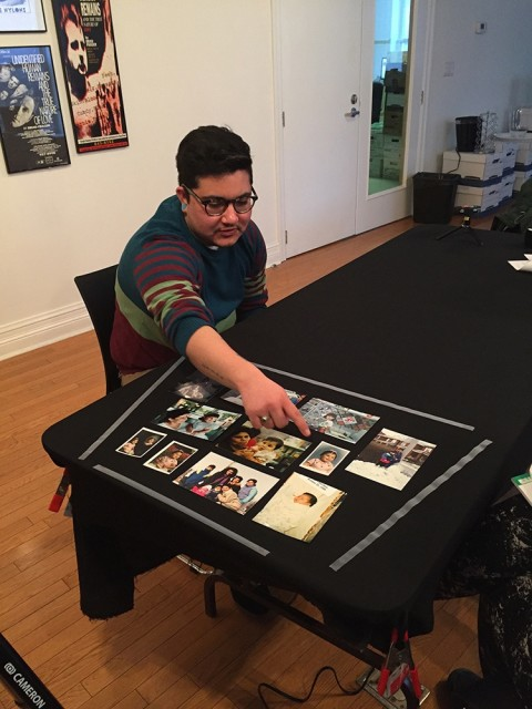 Cecilio Escobar, interview about his family photographs for the Family Camera Network, 2017