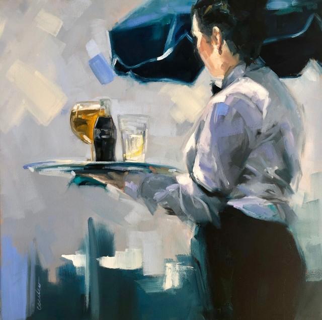 She Oil on Canvas Cecilia Cardiff