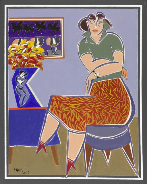 Untitled, 2002  Acrylic on Canvas  130 x 90 cm