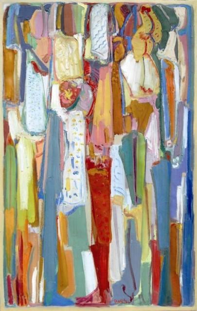 Festivities, 130 x 82cm, Oil on Canvas, 1986