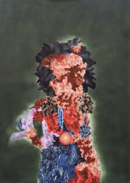 Akimbo , 2018 Oli on Canvas 1.4 x 1 m