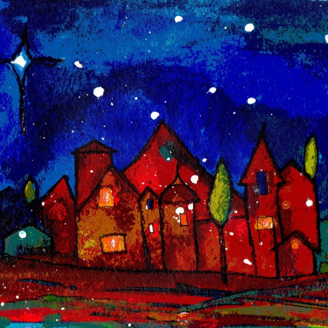 Little Town Charity Christmas Card