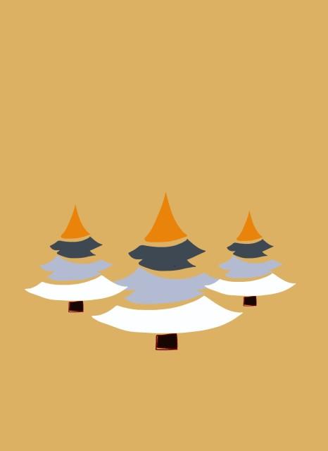 Beach Trees, Charity Christmas Cards