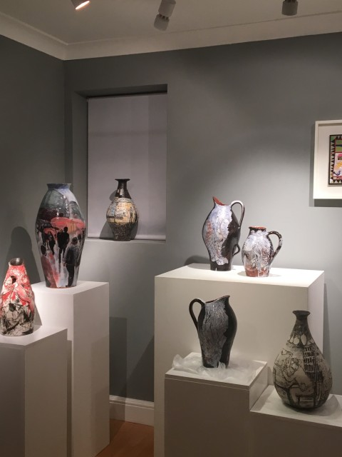 Claudia Clare Pots & Grayson Perry Prints