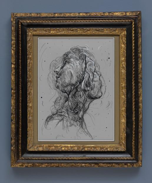Drawing 12 (after Batoni/Del Sarto)