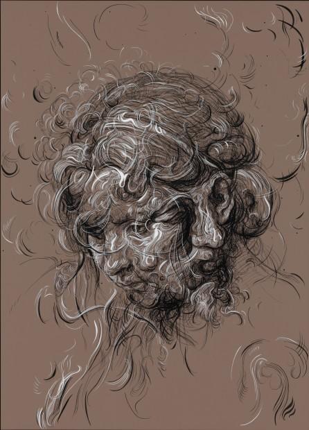 <span class=&#34;artist&#34;><strong>Glenn Brown</strong></span>, <span class=&#34;title&#34;><em>Dungeness B</em>, 2016</span>