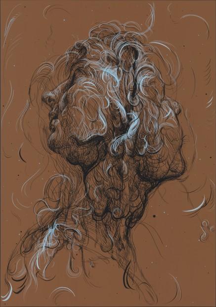 <span class=&#34;artist&#34;><strong>Glenn Brown</strong></span>, <span class=&#34;title&#34;><em>Hubcap Diamond Star Halo</em>, 2017</span>