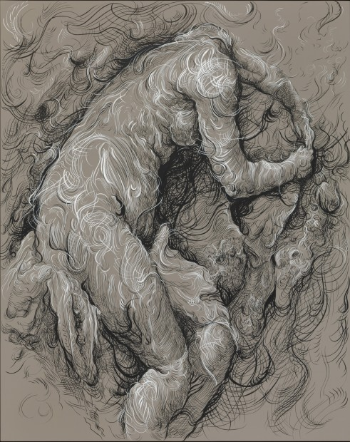 <span class=&#34;artist&#34;><strong>Glenn Brown</strong></span>, <span class=&#34;title&#34;><em>Ride a White Swan</em>, 2017</span>