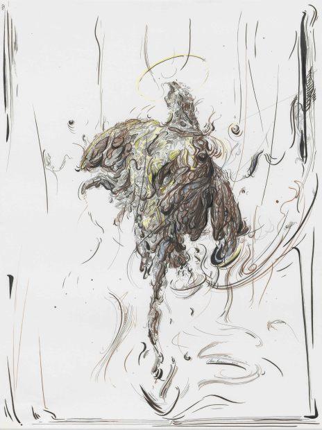 <span class=&#34;artist&#34;><strong>Glenn Brown</strong></span>, <span class=&#34;title&#34;><em>Drawing 6 (after Chardin)</em>, 2016</span>