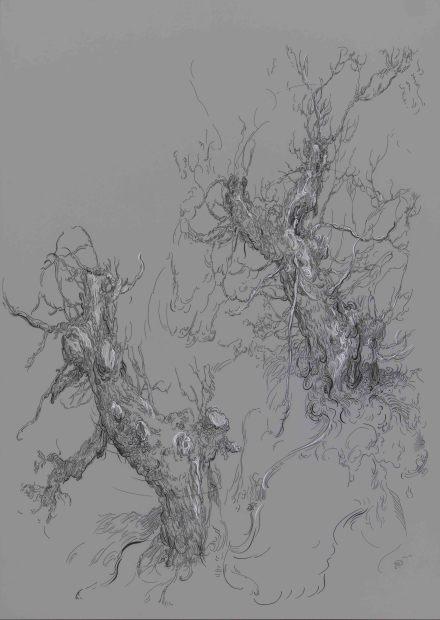 <span class=&#34;artist&#34;><strong>Glenn Brown</strong></span>, <span class=&#34;title&#34;><em>Drawing 5 (after Bloemaert)</em>, 2016</span>