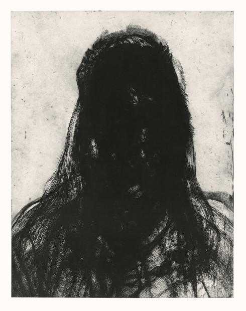 <span class=&#34;artist&#34;><strong>Glenn Brown</strong></span>, <span class=&#34;title&#34;><em>Layered Portrait (after Lucian Freud) 8</em>, 2008</span>