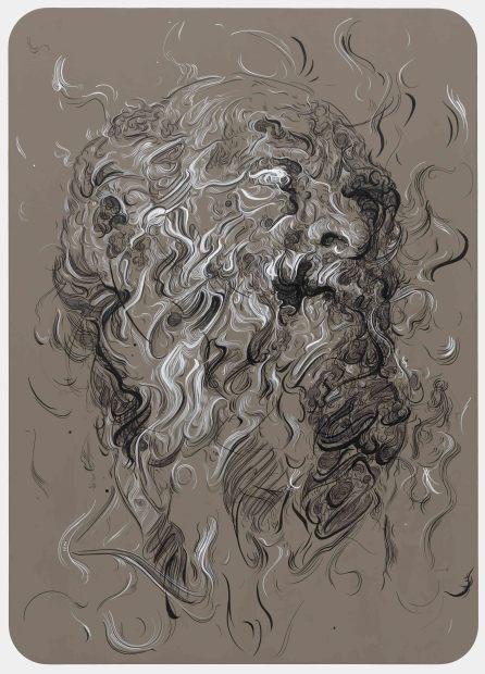 <span class=&#34;artist&#34;><strong>Glenn Brown</strong></span>, <span class=&#34;title&#34;><em>Nostalgia</em>, 2016</span>
