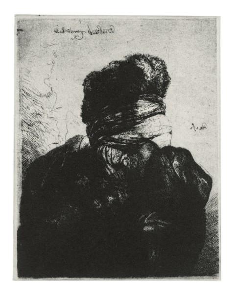 <span class=&#34;artist&#34;><strong>Glenn Brown</strong></span>, <span class=&#34;title&#34;><em>Layered Portraits (after Rembrandt) 7</em>, 2008</span>