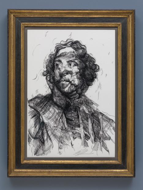 <span class=&#34;artist&#34;><strong>Glenn Brown</strong></span>, <span class=&#34;title&#34;><em>Drawing 16 (after Van Dyck/Van Dyck)</em>, 2017</span>