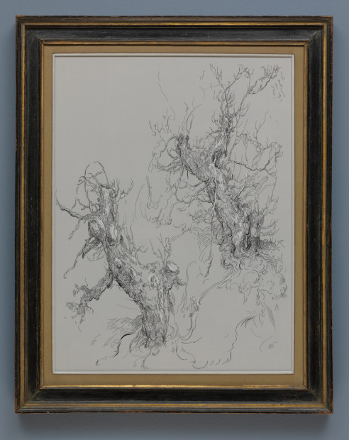 <span class=&#34;artist&#34;><strong>Glenn Brown</strong></span>, <span class=&#34;title&#34;><em>Drawing 5 (after Bloemaert)</em>, 2016</span>