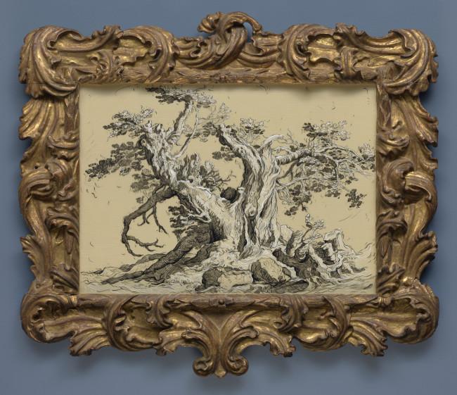 <span class=&#34;artist&#34;><strong>Glenn Brown</strong></span>, <span class=&#34;title&#34;><em>Drawing 1 (after Bloemaert) </em>, 2017</span>